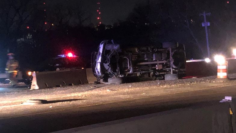 Accident reported on I-35 in Oklahoma City
