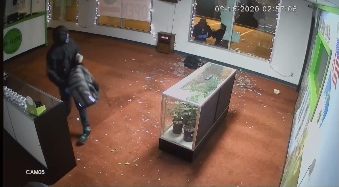 Nicoma Park dispensary burglary