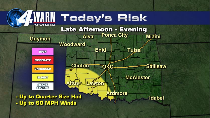 Today's Severe Risk