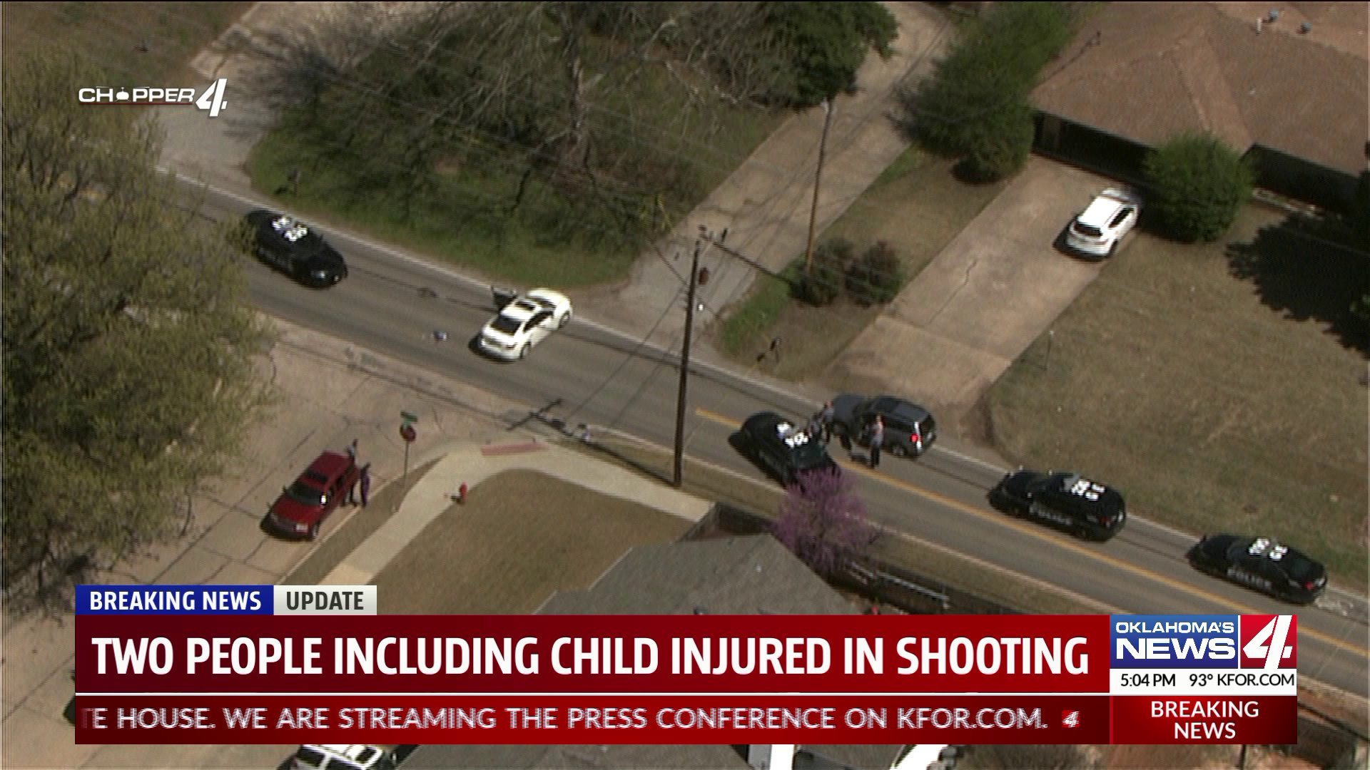 Two injured in shooting
