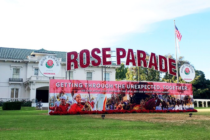 Watch the Rose Parade's New Year Celebration presented by Honda