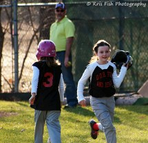 Riley's 1st run scored...what a smile!