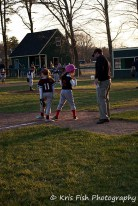 She beats the throw at 3rd...High-5 Coach Mike!