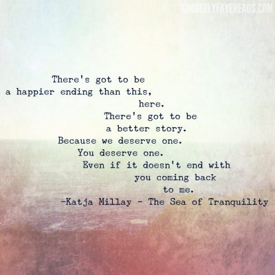 Sea of Tranquility Quote