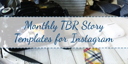Monthly TBR Story Templates for Instagram
