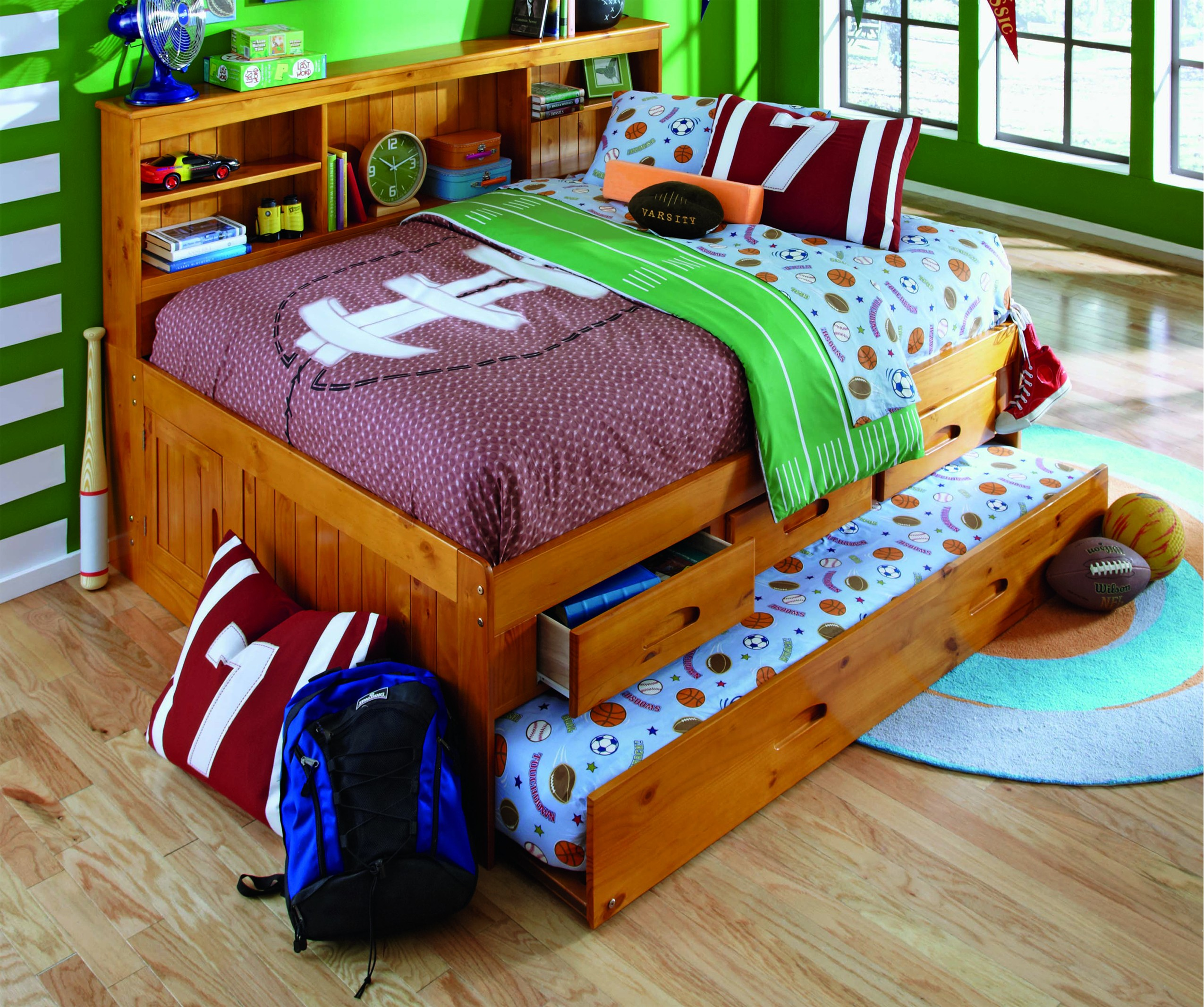 Discovery World Furniture Honey Full Captain Day Beds Kfs Stores