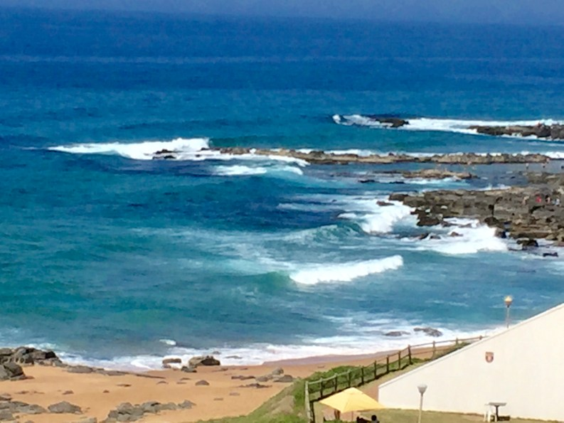 Beach, looking south
