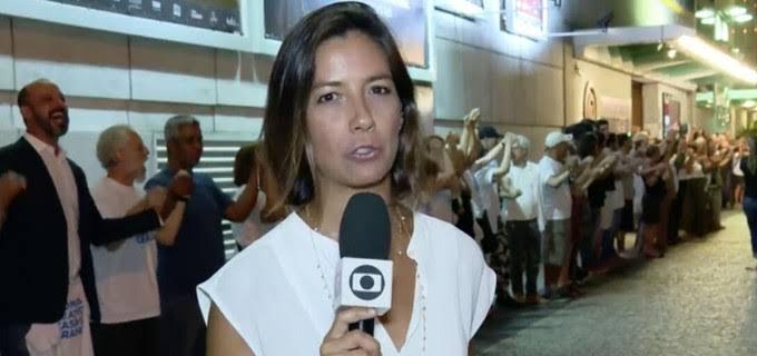 Homem armado com faca invade TV Globo e faz repórter refém
