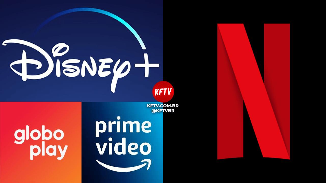 Disney+, Globoplay e Prime Video se unem para 'derrubar' Netflix no Brasil