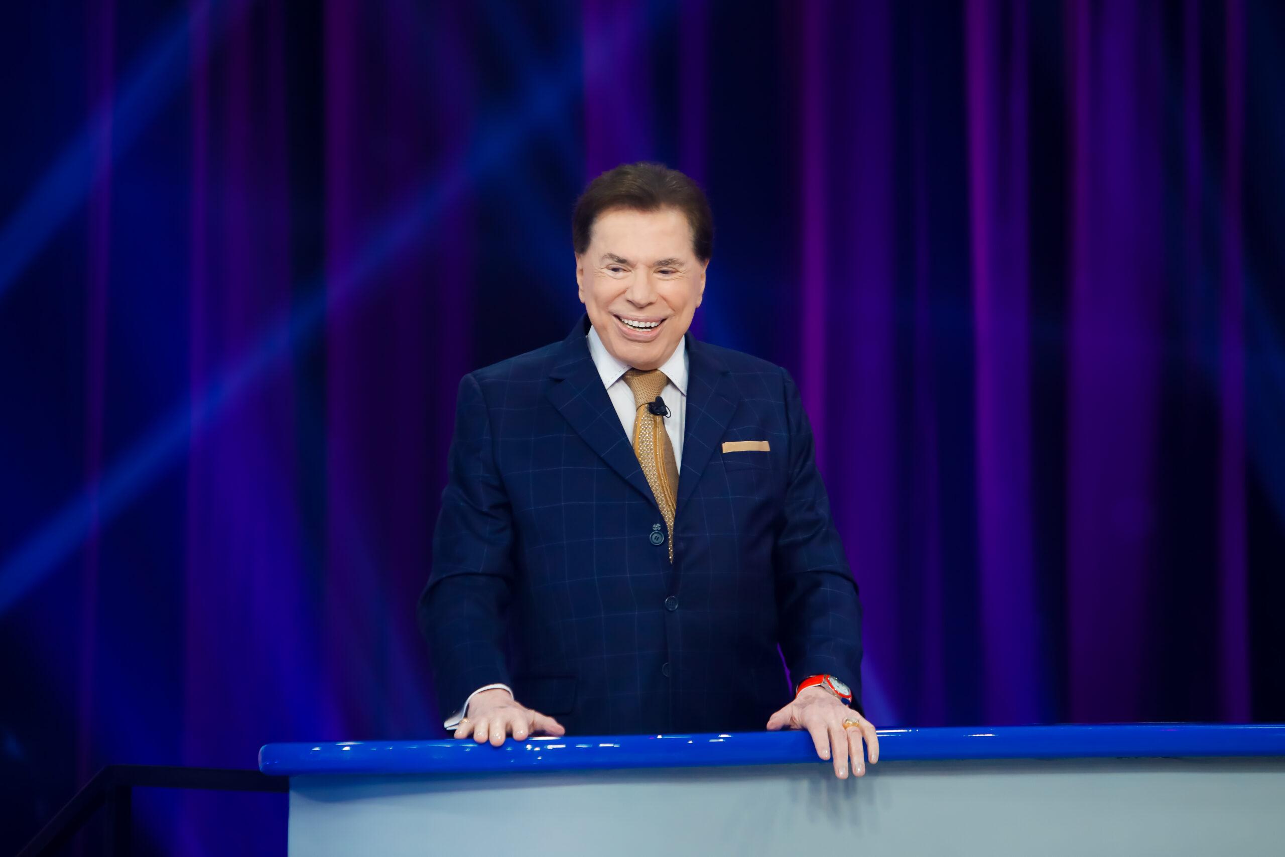 Após mais de um ano afastado da TV, Silvio Santos retorna ao SBT para gravar programa