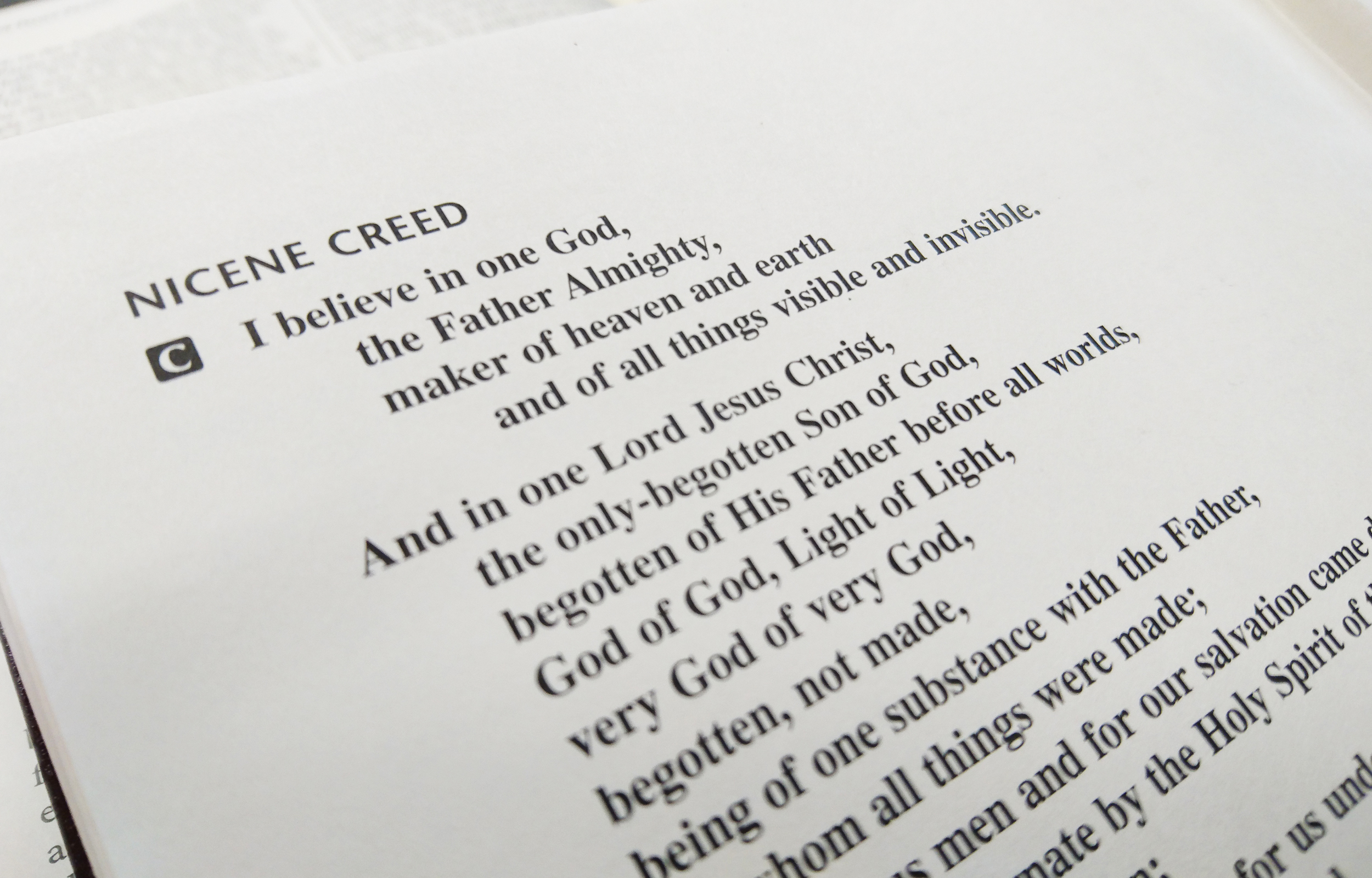 Thy Strong Word