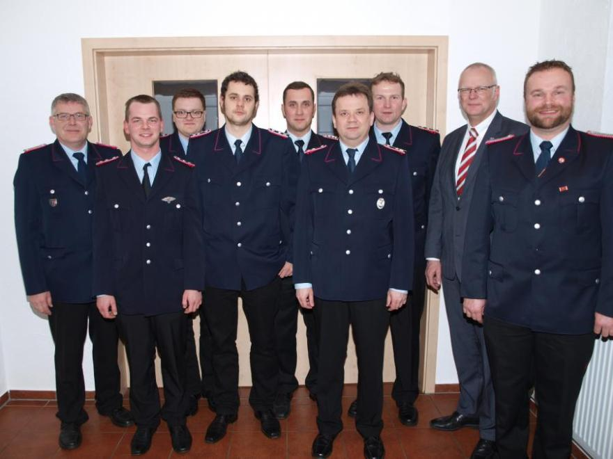 Jahreshauptversammlung der Ortsfeuerwehr Jarnsen-Luttern-Bunkenburg