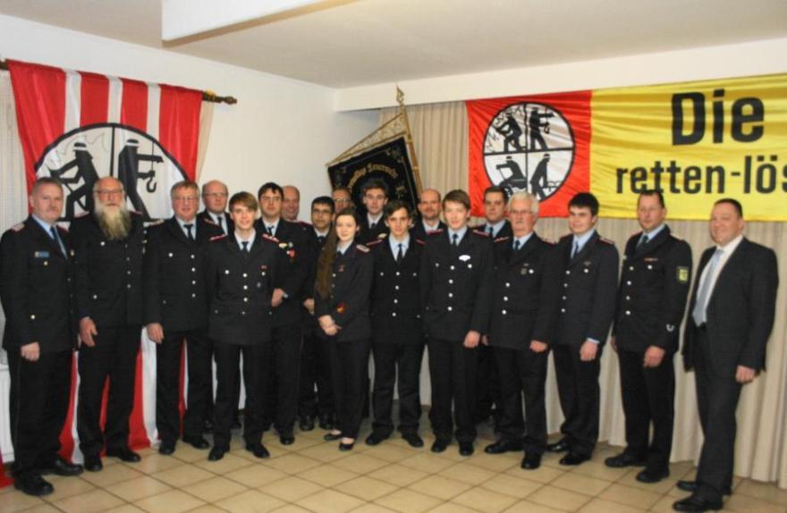 Jahreshauptversammlung der Freiwilligen Feuerwehr Winsen (Aller)