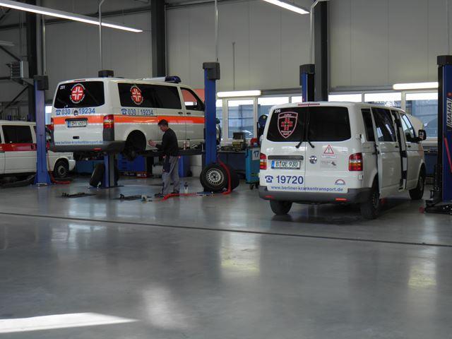Günstige Transporter Werkstatt in Berlin