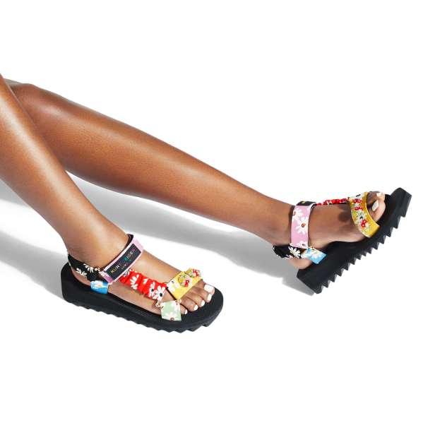 KURT GEIGER LONDON ORION velcro sandals