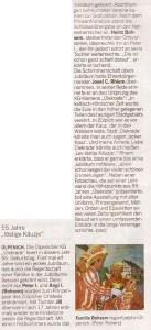 Kölnische Rundschau 21. Januar 2015