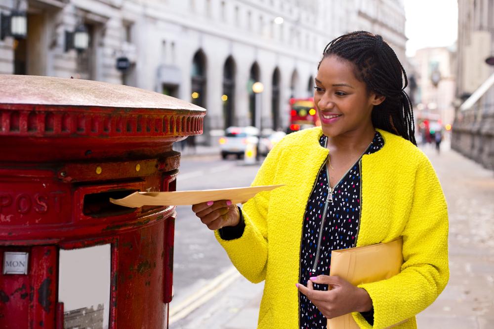 A woman filing CIC Accounts