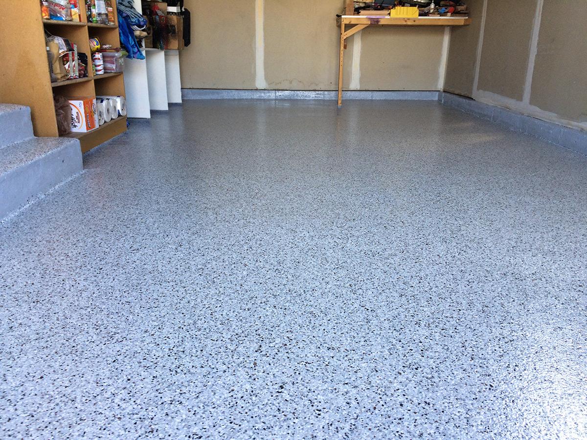 3 Car Garage Epoxy Floor  Coating
