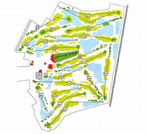 Kurmitola Golf Club Course Layout