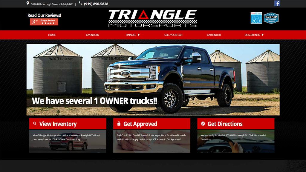 trianglemotorsports-com