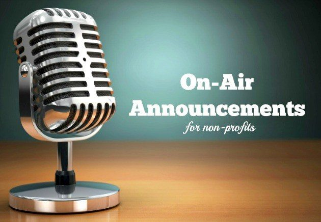 91.3 KGLY East Texas Christian Radio On-Air Annoumcements for Non-Profits