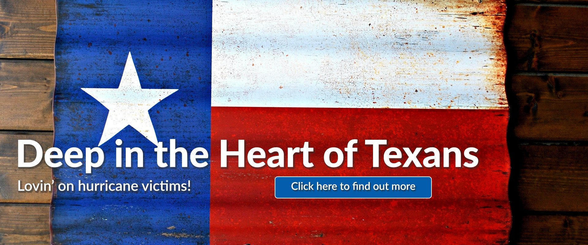 91.3 KGLY East Texas Christian Radio Deep in the Heart of Texans Lovin' on Hurricane Harvey Victims