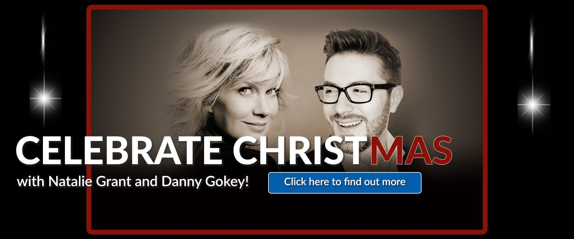 91.3 KGLY East Texas Christian Radio 2017 Celebrate Christmas with Natalie Grant and Danny Gokey