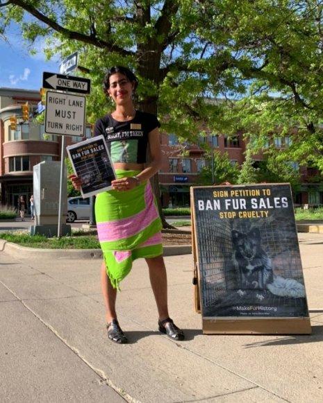 Ban Fur Sales Petition_KGNU