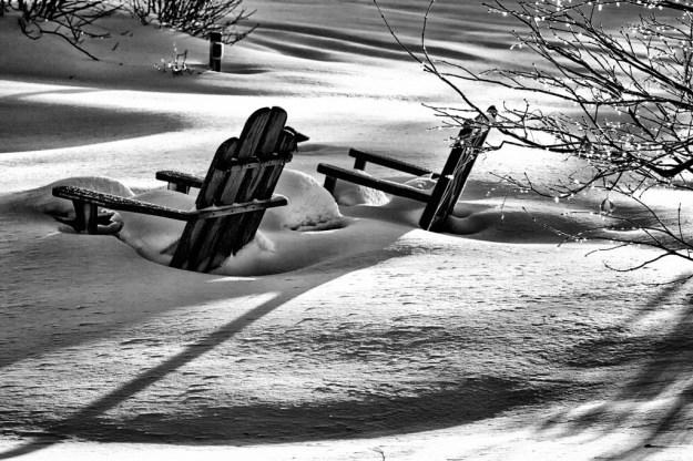 140216_Adirondack's & Snow by © 2013 Karl Graf.