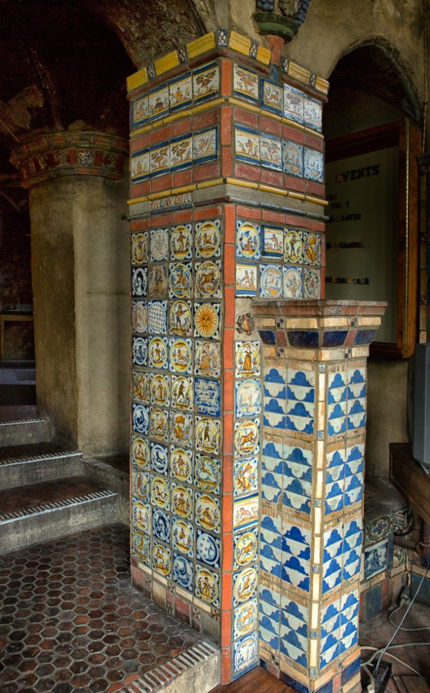 Spanish Tiles, Conservatory by Karl Graf.