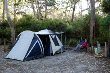 Fortescue Bay campground