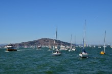 Yachts on SF Bay