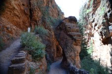 Heading down into Refrigerator Canyon