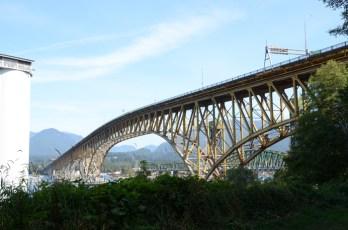 Second Narrows Bridge in Vancouver.