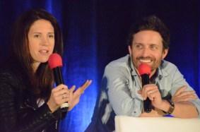 Emily Perkins & Rob Benedict
