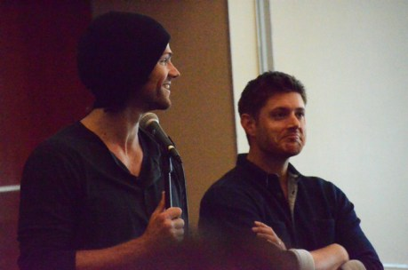 Jared & Jensen at the Gold Breakfast