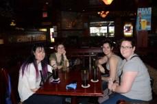 Claire, Rachel, Monique & Katelyn.