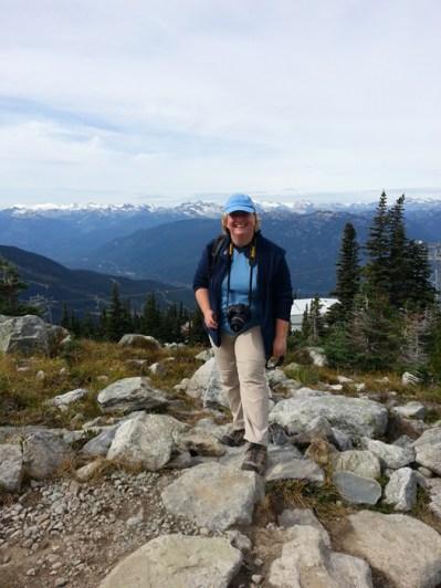 Me on the Alpine Walk