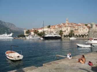 Visiting Korcula island in Croatia
