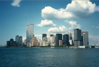 Seeing the New York skyline with the Twin Towers