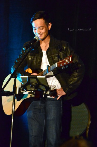 Osric Chau at the cabaret night