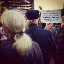 #LetThemStay vigil, Melbourne