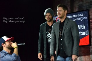 Zach Levi, Jared Padalecki and Jensen Ackles