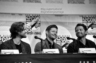 Jared Padalecki, Jensen Ackles & Misha Collins