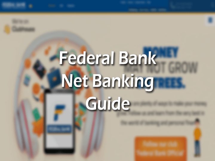FB net Banking Login, Phone Number, IFSC and Email