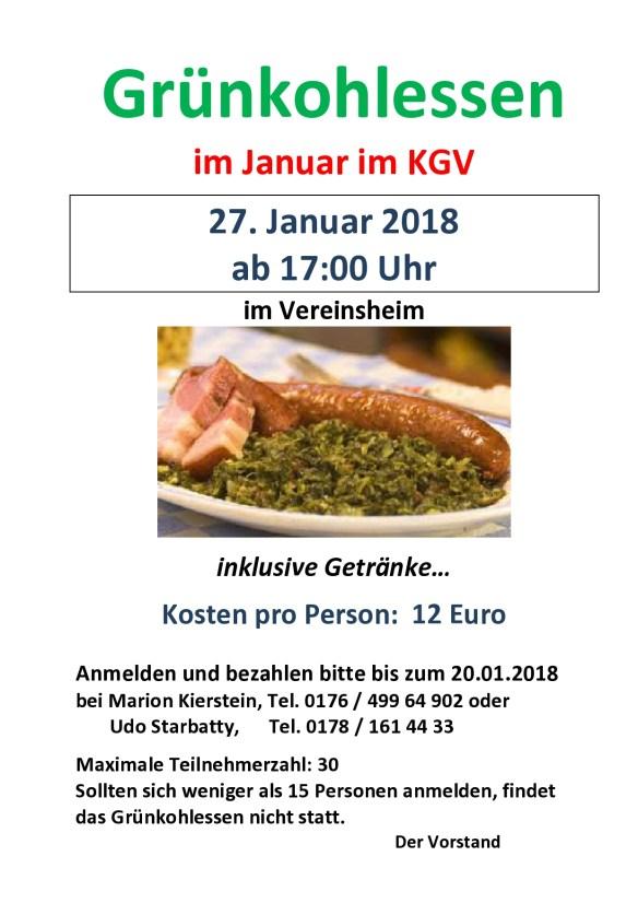 Aushang Grünkohlessen im KGV Januar 2018-page0001