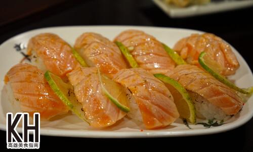 《將太壽司》炙燒焦糖鮭魚握壽司