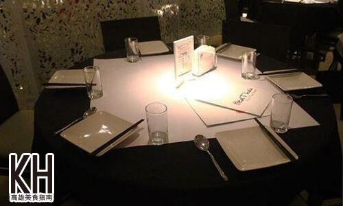 《紅舍》泰式料理的餐桌