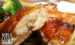 《赤鬼炙燒牛排》照燒黃金雞腿排剖面