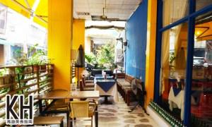 《拉斐爾廚坊》戶外寵物用餐區